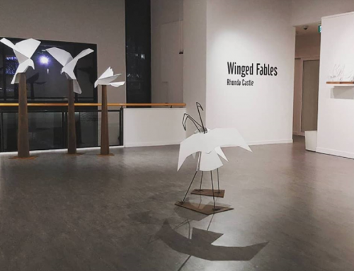 Winged Fables Exhibition 4th to 25th August Tuggeranong Art Centre ACT