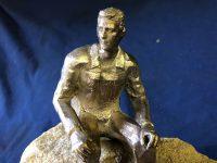 Pondering by Rhonda Castle Sculptor