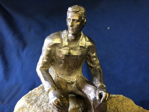 Pondering by Rhonda Castle Sculptor